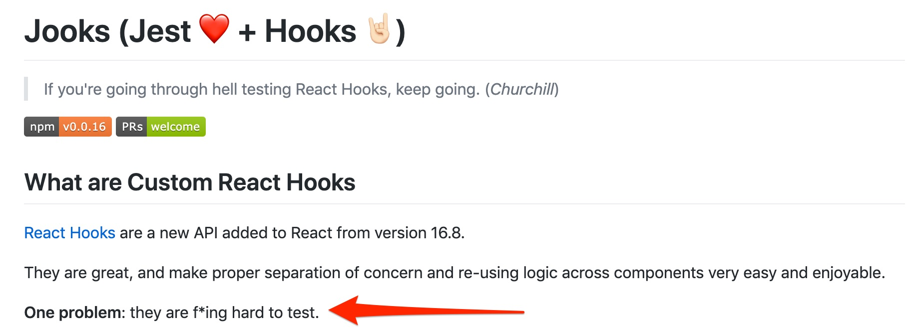 Testing of a Custom React Hook for Fetching Data with Axios